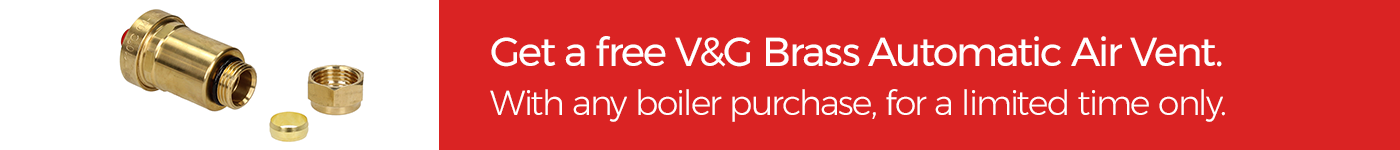 V&G Auto Air vent free with every boiler.