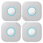 Google Nest Protect, 2nd Generation, Wired (Pack of 4)