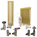 Sungold Column Radiator and Valves In A Package Deal