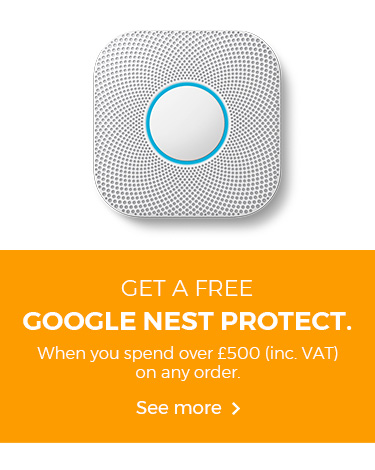 Get a free Google Nest Protect when you spend over £500